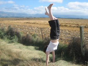 Finding Balance as a Freelancer Is Like Doing a Handstand